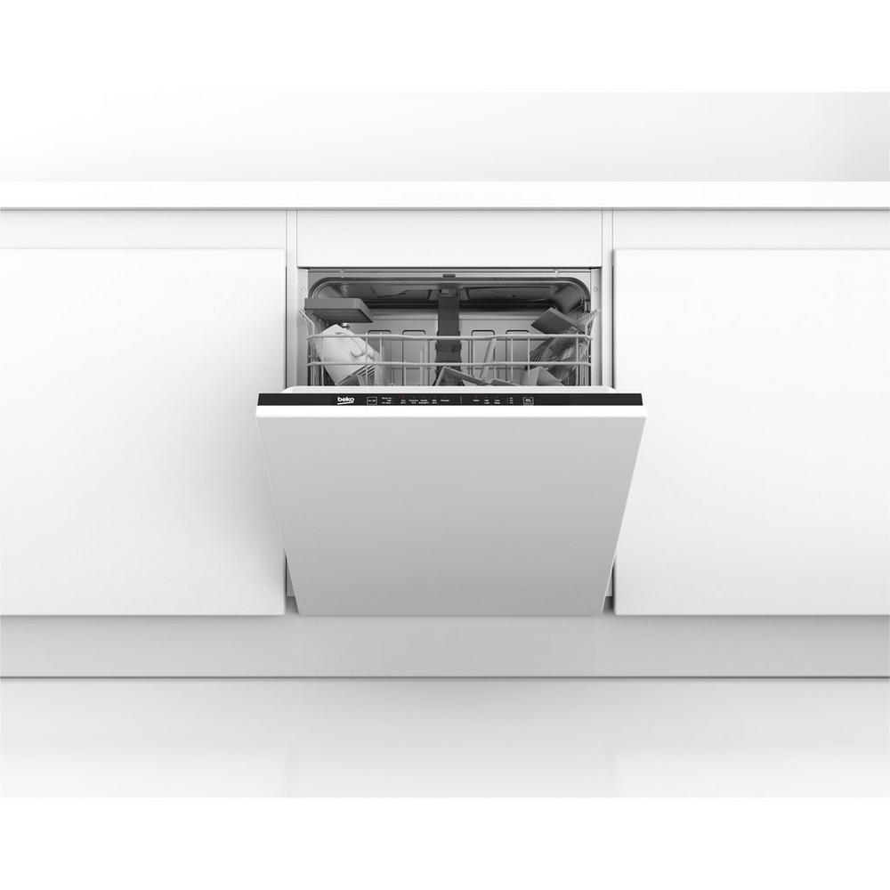 083a2c5d6ba Beko DIN15C10 Integrated Full Size Dishwasher - A Rated | Integrated ...