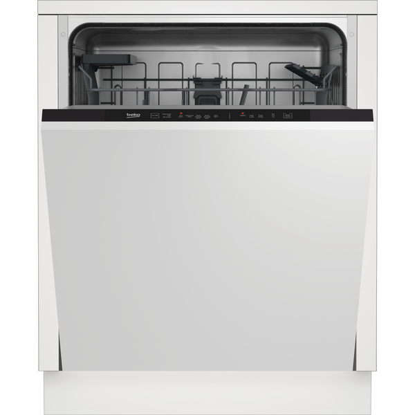 Beko DIN15C20 Integrated Dishwasher - 14 Place Settings