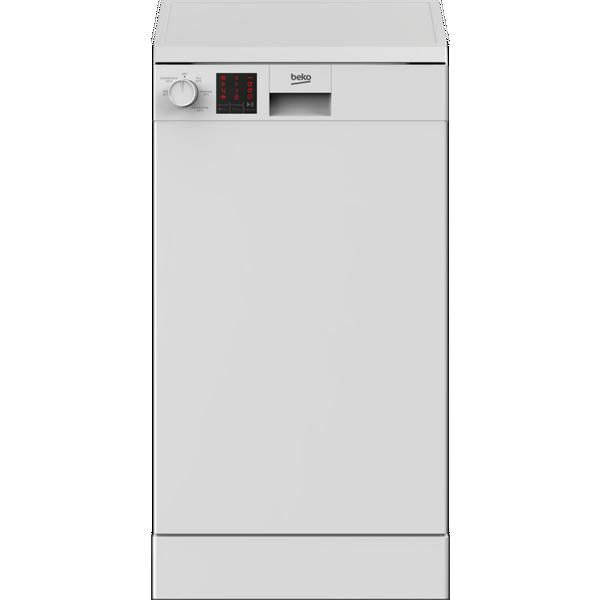 Beko DVS05C20W Slimline Dishwasher - White - 10 Place Settings
