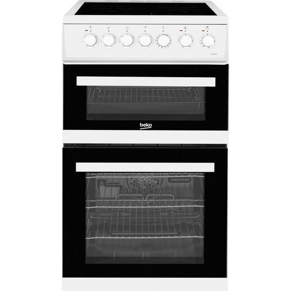 Beko EDVC503W 50cm Electric Double Oven - White