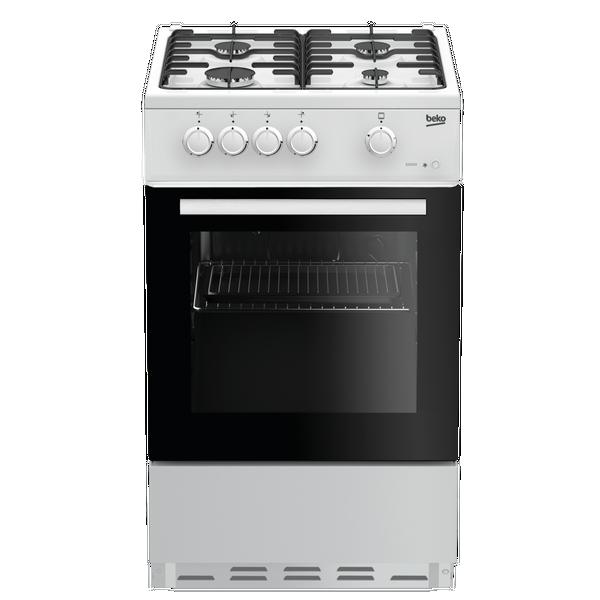 Beko ESG50W 50cm Gas Single Oven - White