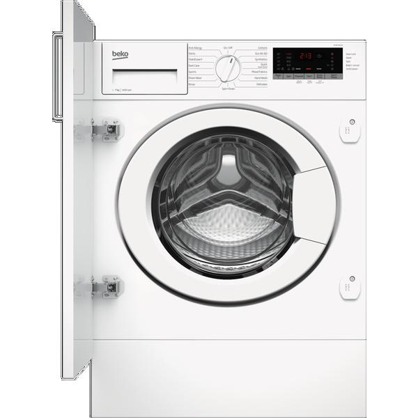 Beko WTIK74151F 7kg 1400rpm Integrated RecycledTub™ Washing Machine - White