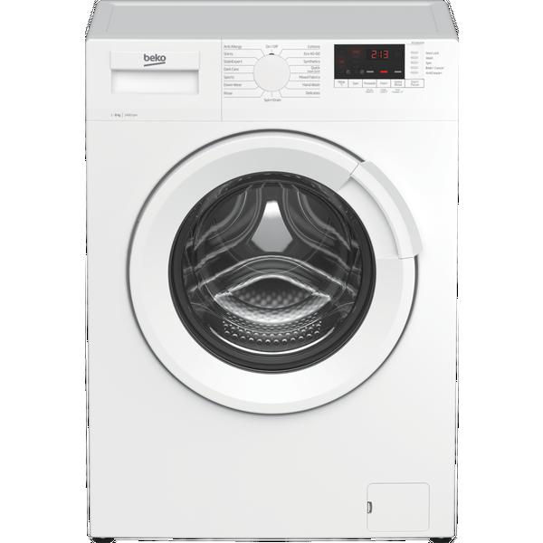 Beko WTL84141W 8kg 1400rpm Freestanding RecycledTub™ Washing Machine - White