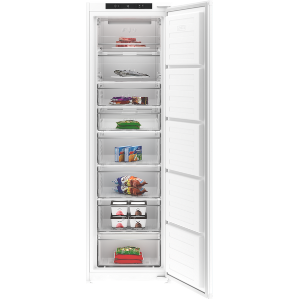 Blomberg FNT3454I 54cm Integrated Frost Free Tall Freezer - White