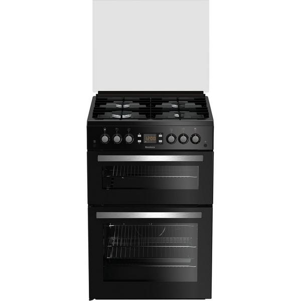 Blomberg GGN64Z 60cm Double Oven Gas Cooker - Black