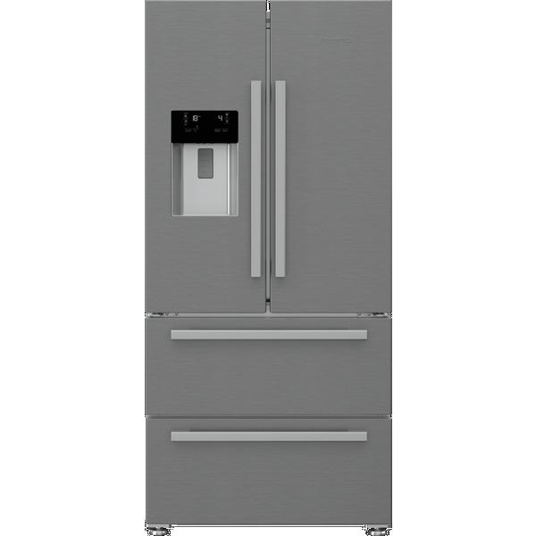 Blomberg KFD4953XD American Style Fridge Freezer - Stainless Steel - Frost Free