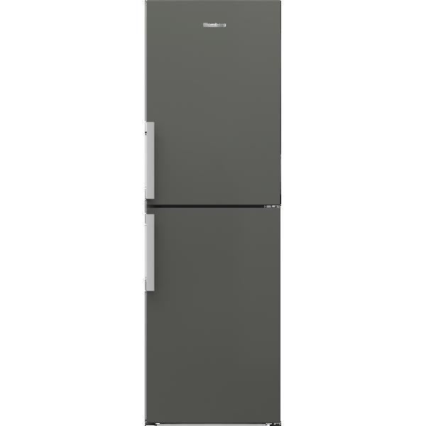 Blomberg KGM4663G 59.5cm Fridge Freezer - Graphite - Frost Free