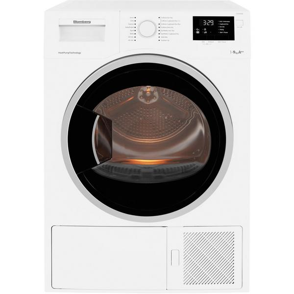 Blomberg LTS2932W 9kg Heat Pump Tumble Dryer - White - A++ Rated