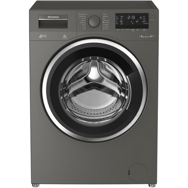 Blomberg LWF28442G 8kg 1400 Spin Washing Machine - Graphite - A+++ Rated