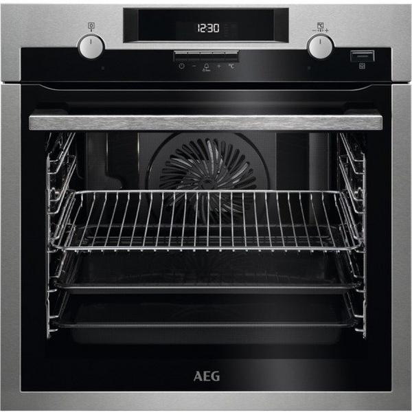 AEG BPS551220M Built In Electric Single Oven - Stainless Steel - A+ Rated