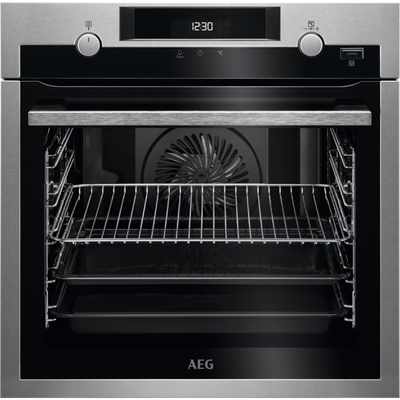 AEG BPS55IE20M 56cm Built In Electric Single Oven - Stainless Steel
