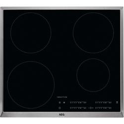 AEG IKB64401XB 60cm Induction Hob - Black/Stainless Steel