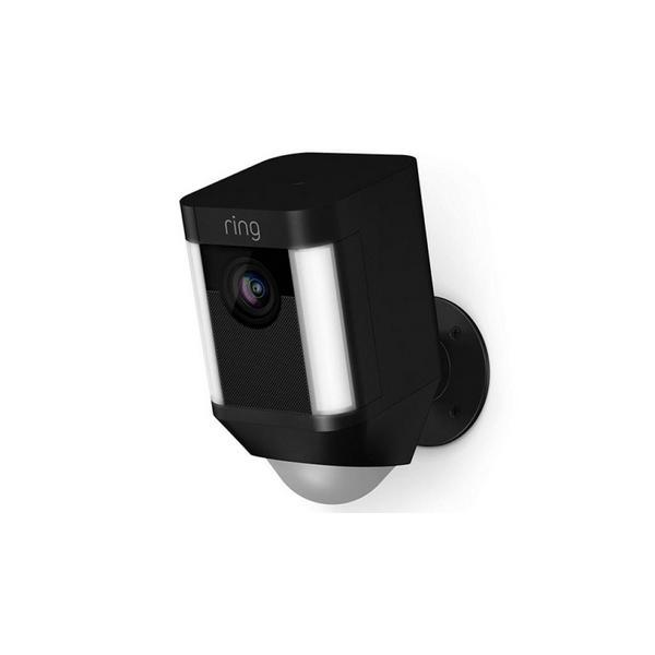 Ring 8SB1S7_BEU0 Spotlight - Camera Battery - Black