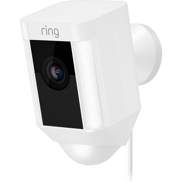 Ring 8SH2P7_WEU0 Spotlight - Wired Camera - White