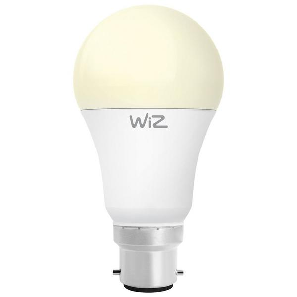 Wiz Warm White WZ20826011 - A60 Bayonet Smart Bulb Fully Dimable