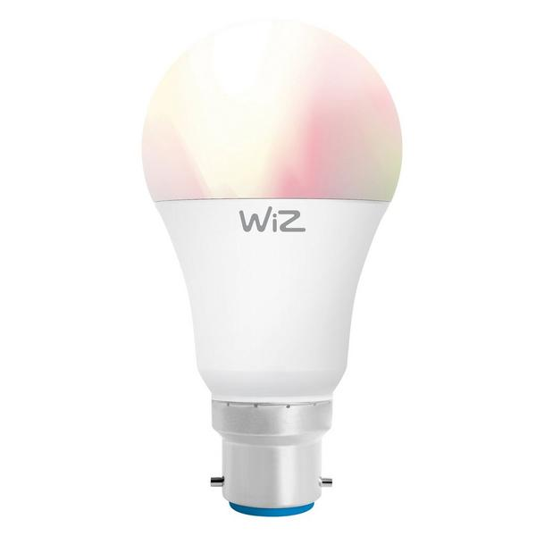Wiz Tunable WZ20826081 - LED Coloured Smart Bulb A60 Bayonet Fully Dimmable