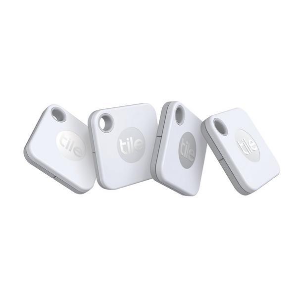 Tile RE_19004 - Mate Key Finder 4 Pack - White/Grey