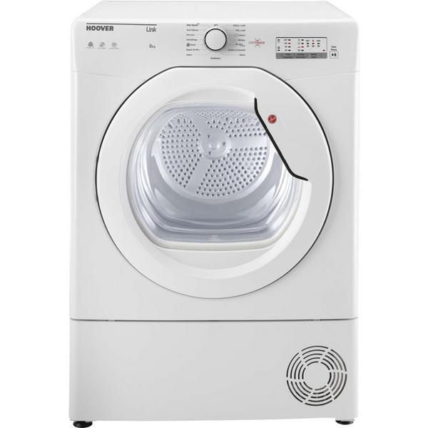 Hoover BHLC8LG 8kg Condenser Tumble Dryer - White - B Rated