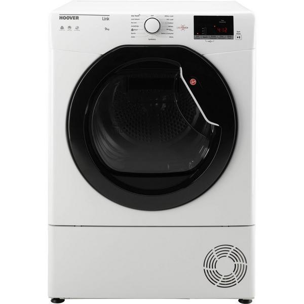 Hoover HLC9DKE 9kg Condenser Tumble Dryer - White - B Rated