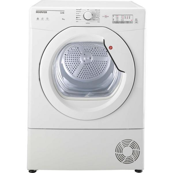 Hoover HLC9LG 9kg Condenser Tumble Dryer - White - B Rated