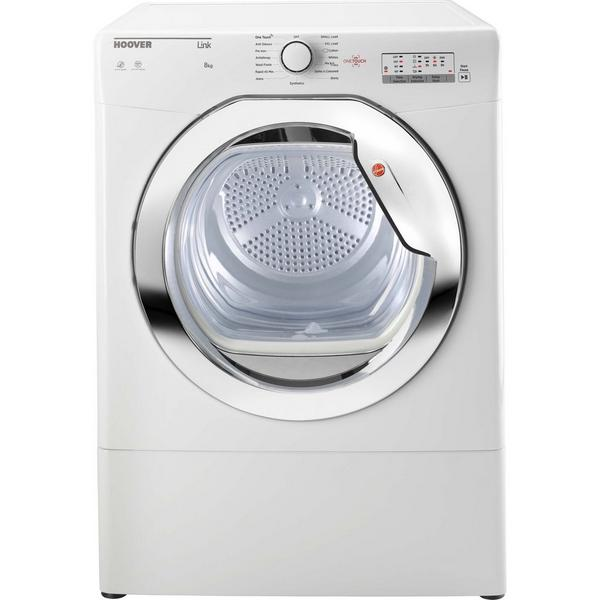 Hoover HLV8LCG 8kg Vented Tumble Dryer - White - C Rated