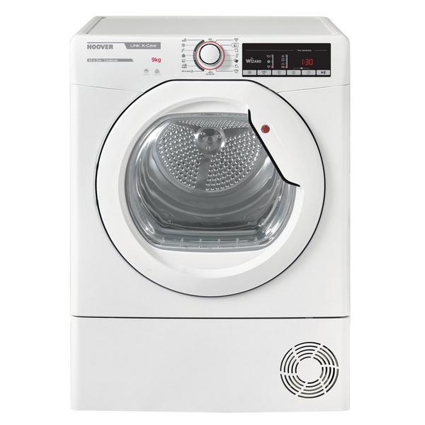 Hoover HLXC9TE 9kg Condenser Tumble Dryer - White