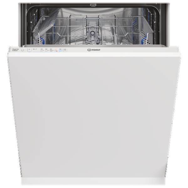 Indesit DIE2B19UK Integrated Full Size Dishwasher - White - 13 Place Settings