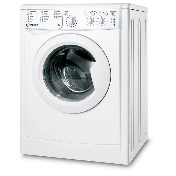 Indesit IWC71252WUKN 7kg 1200 Spin Washing Machine with Water Balance technology - White