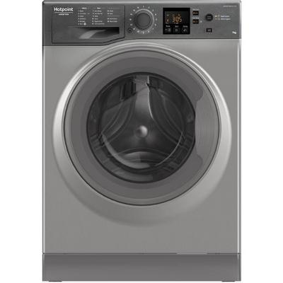 Hotpoint NSWE743UGG 7 kg 1400 Spin Washing Machine - Graphite - A+++ Energy Rated
