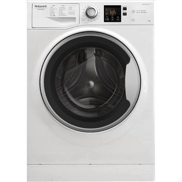 Hotpoint NSWE743UWS 7 kg 1400 Spin Washing Machine - White - A+++ Energy Rated