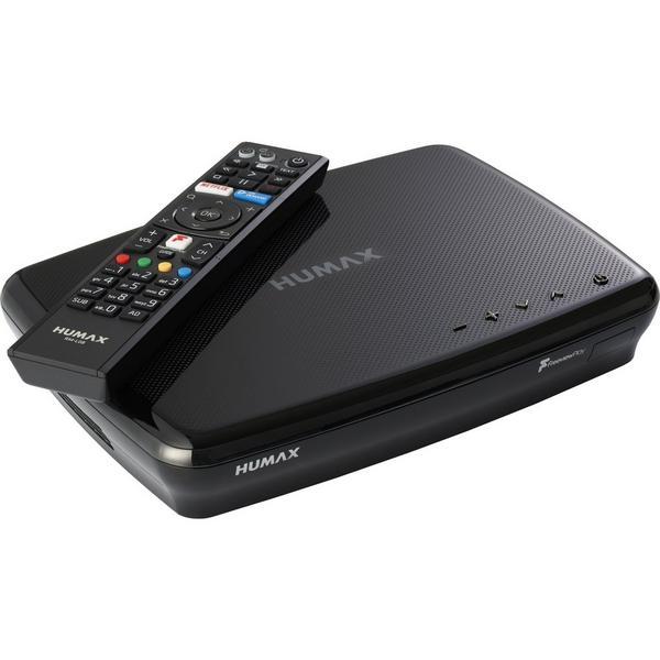 Humax FVP5000T500GBBL Digital Video Recorder - 500 GB HDD-Freeview-HD- Smart- Black