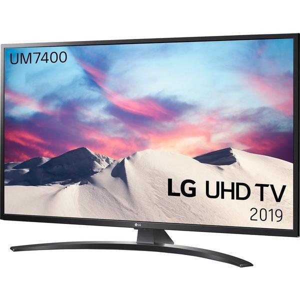 "LG 43UM7400PLB 43"" 4K UHD TV - SMART - webOs - Freeview HD - Freesat HD - A Rated"
