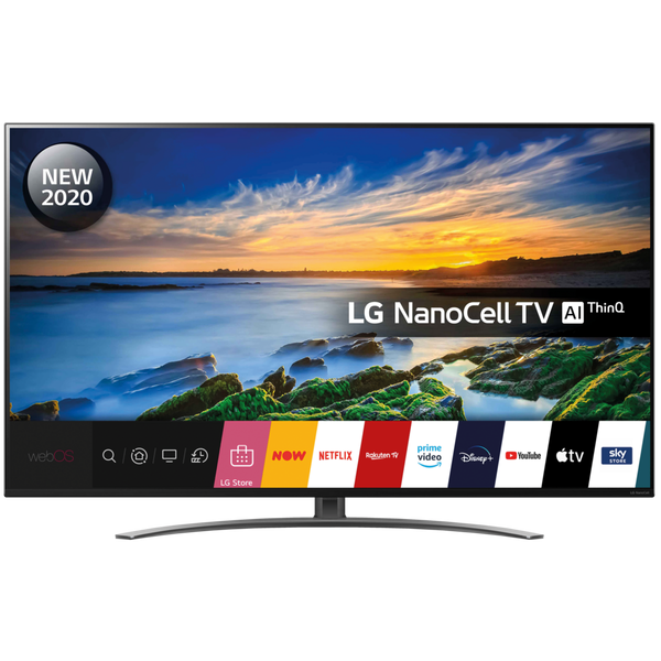 "LG 55NANO866NA 55"" 4K Ultra HD NanoCell Smart TV with Dolby Atmos & Voice Assistant"