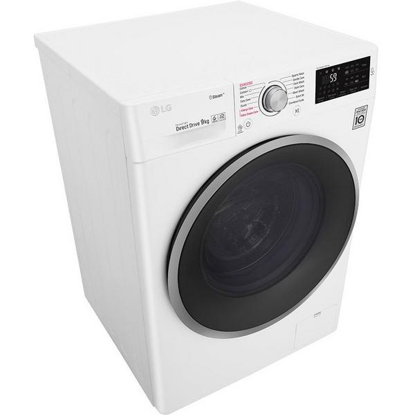 LG ELECTRONICS F4J609WS 9kg 1400 Steam Washing Machine - BLUE WHITE - A+++-20% Energy Rated