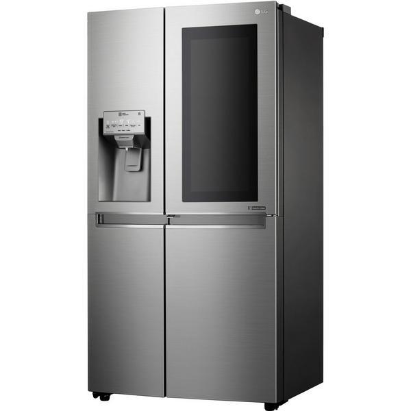 LG ELECTRONICS GSX960NSVZ InstaView Door-in-Door American Style Fridge Freezer - PREMIUM STEEL