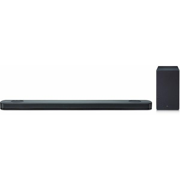 LG SK9YDGBRLLK 5.1.2ch Soundbar -500W-Dolby Atmos-Bluetooth-Hi-Res Audio- Wireless