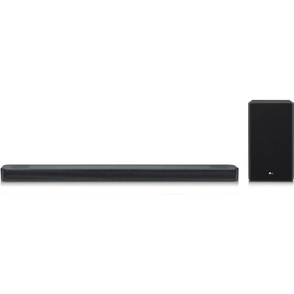 LG SL8YGDGBRLLK Flat Soundbar + Subwoofer 3.1.2 Ch - 440W - Dolby Atmos - DTS X -Google Assistant - Dark Titan Silver