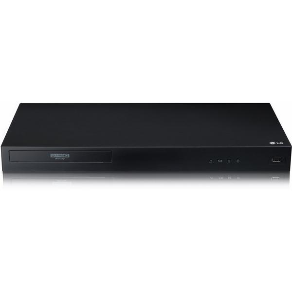 LG UBK80DGBRLLK 4K Blu-ray Player - Ultra Rated HD HDR 1080P Playback