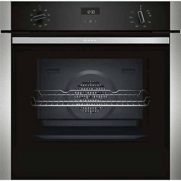 Neff B1ACE4HN0B Electric CircoTherm Single Oven - BLACK/STEEL