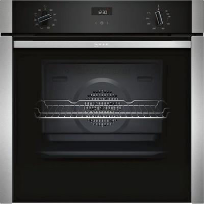 Neff B3ACE4HN0B Slide & Hide Built In Electric Single Oven - Stainless Steel - A Rated