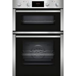 Neff U1DCC1BN0B Built In Double Electric Oven - Stainless Steel - A/B Rated