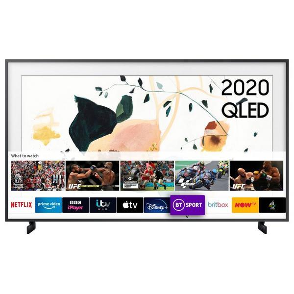 "Samsung QE55LS03TAUXXU 55"" 4K QLED Frame Smart TV with Dual LED Screen & Art Mode"