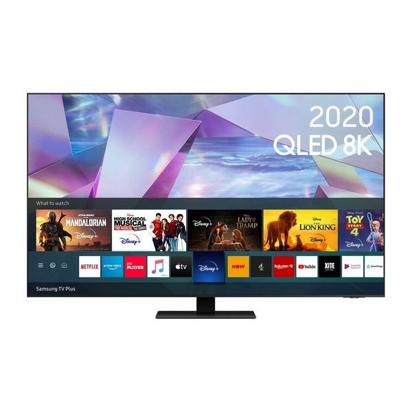 "Samsung QE55Q700TATXXU 55"" 8K HDR10 QLED Smart TV with Direct Full Array & AI Sound"