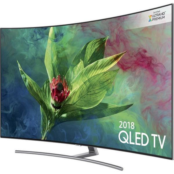 """Samsung QE55Q8CNATXXU 55"""" Curved UHD QLED - Smart - 4K - Premium Certified HDR - Freesat HD"""
