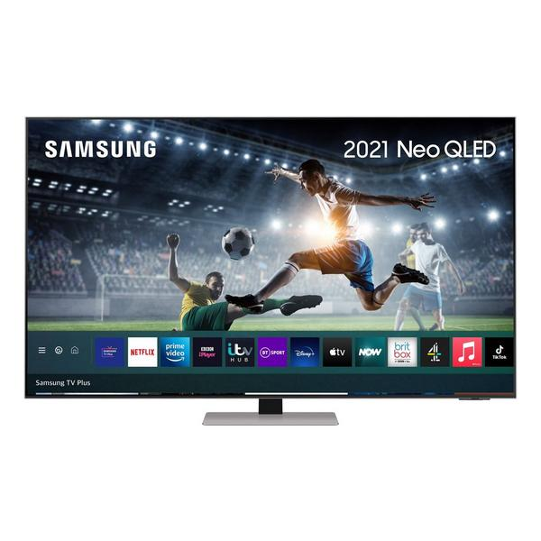 "Samsung QE55QN85AATXXU 55"" 4K Neo QLED Smart TV Quantum Matrix Technology,Quantum HDR 1500 powered by HDR10+ with Wide Viewing Angle"