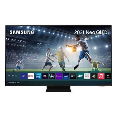 "Samsung QE55QN90AATXXU 55"" 4K Neo QLED Smart TV Quantum Matrix Technology Quantum HDR 2000 [1500] powered by HDR10+ with Wide Viewin"