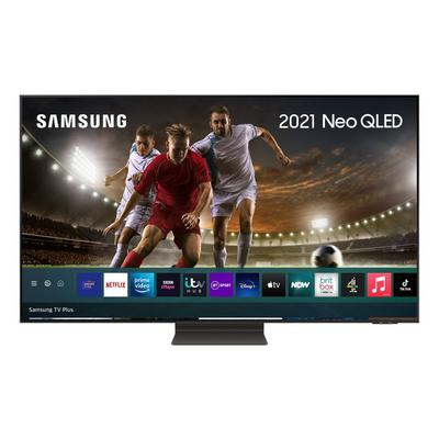 "Samsung QE55QN95AATXXU 55"" 4K Neo QLED Smart TV Quantum Matrix Technology Quantum HDR 2000 powered by HDR10+ with Ultra Viewing Ang"