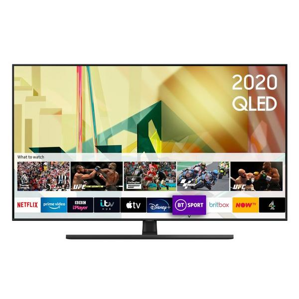 "Samsung QE65Q70TATXXU 65"" 4K HDR10 QLED Smart TV with Cinematic Colour & Optimised Sound"