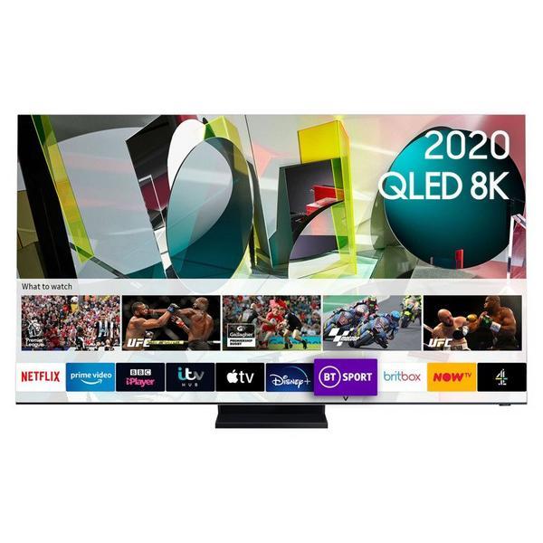 "Samsung QE65Q950TSTXXU 65"" 8K HDR10 QLED Smart TV with Infinity Screen"