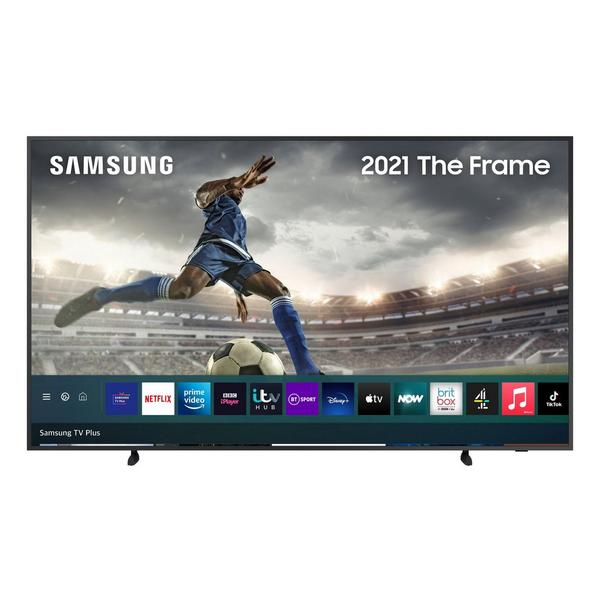 "Samsung QE75LS03AAUXXU 75"" Frame 4K QLED HDR Smart TV with Art Mode"